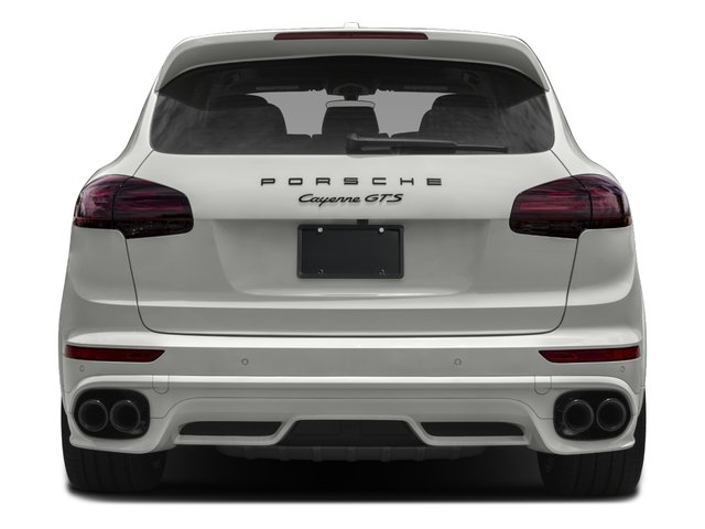2016 Porsche Cayenne Prices and Values Utility 4D GTS AWD V6 Turbo rear view