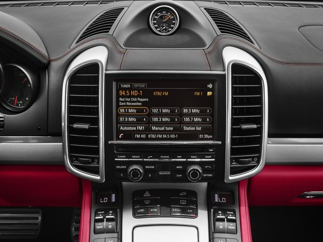 2016 Porsche Cayenne Prices and Values Utility 4D GTS AWD V6 Turbo stereo system