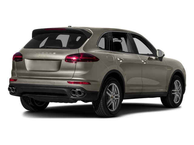 2016 Porsche Cayenne Prices and Values Utility 4D S V6 e-Hybrid AWD side rear view