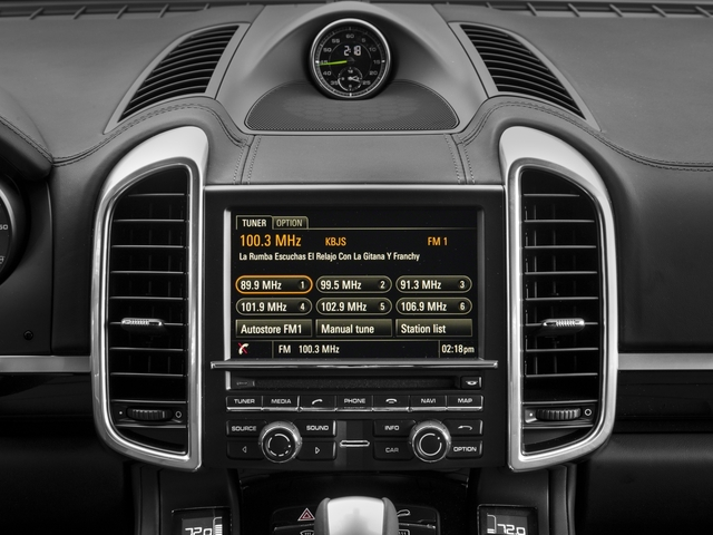 2016 Porsche Cayenne Prices and Values Utility 4D S V6 e-Hybrid AWD stereo system