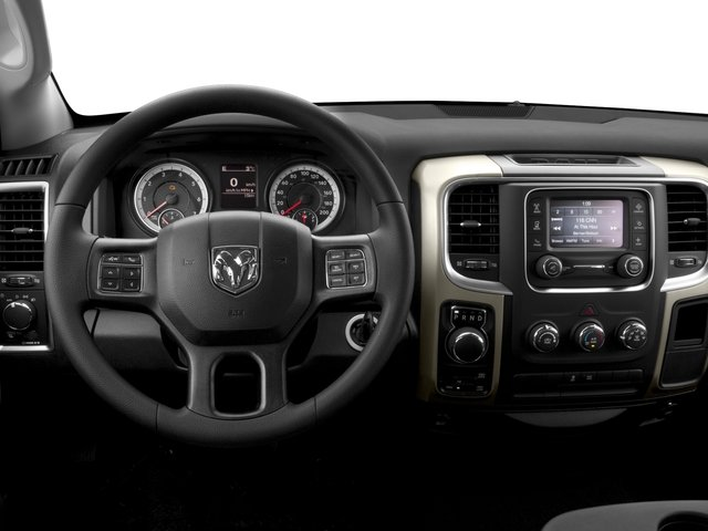 2016 Ram Truck 1500 Prices and Values Quad Cab SLT 4WD driver's dashboard
