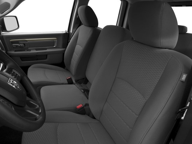 2016 Ram Truck 1500 Prices and Values Quad Cab Express HFE V5 T-Diesel front seat interior