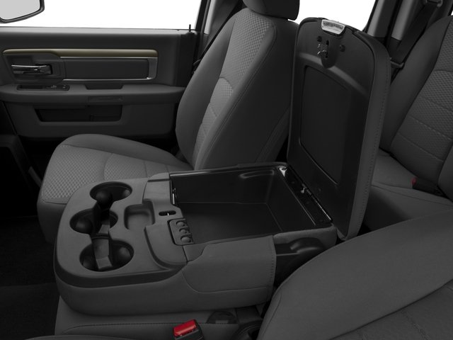 2016 Ram Truck 1500 Prices and Values Quad Cab Express HFE V5 T-Diesel center storage console