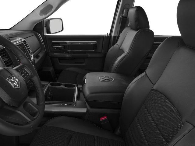 2016 Ram Truck 1500 Prices and Values Crew Cab Outdoorsman 4WD front seat interior