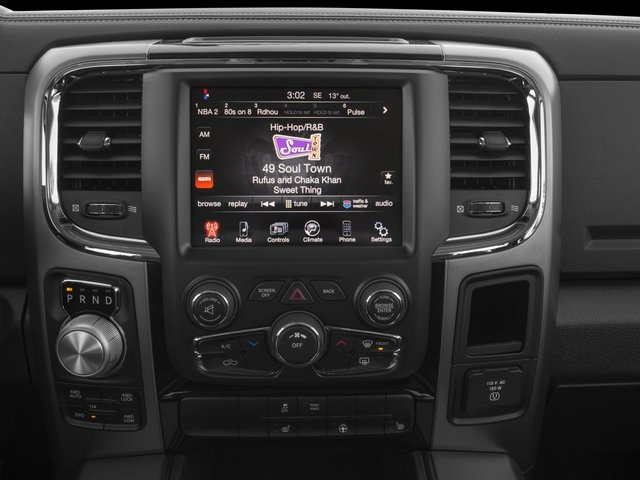 2016 Ram Truck 1500 Prices and Values Crew Cab Outdoorsman 4WD stereo system