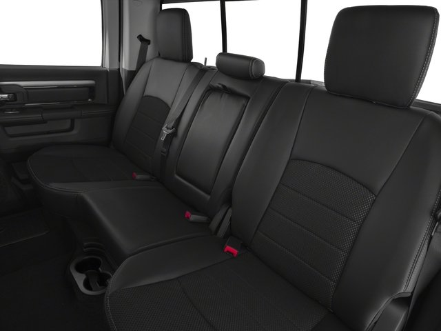 2016 Ram Truck 1500 Prices and Values Crew Cab Outdoorsman 4WD backseat interior