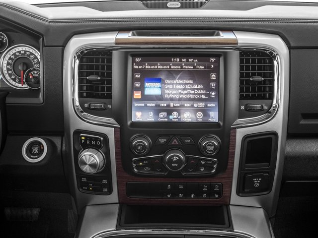 2016 Ram Truck 1500 Prices and Values Crew Cab Laramie 2WD stereo system