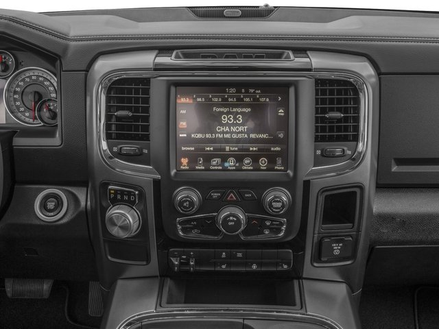 2016 Ram Truck 1500 Pictures 1500 Regular Cab Sport 4WD photos stereo system