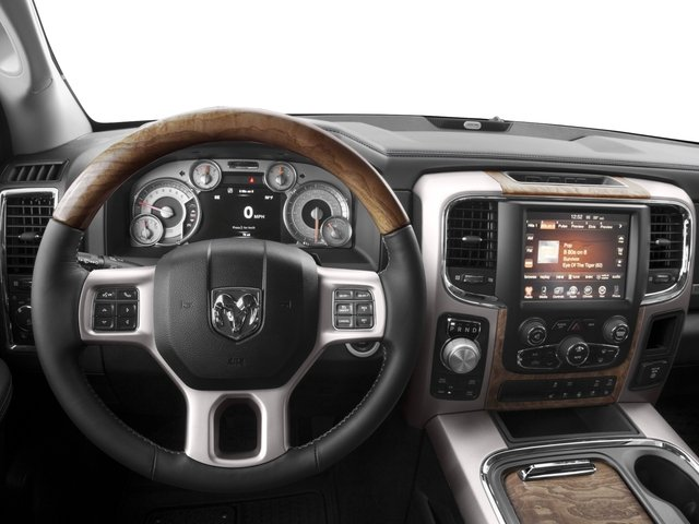 2016 Ram Truck 1500 Prices and Values Crew Cab Limited 2WD driver's dashboard