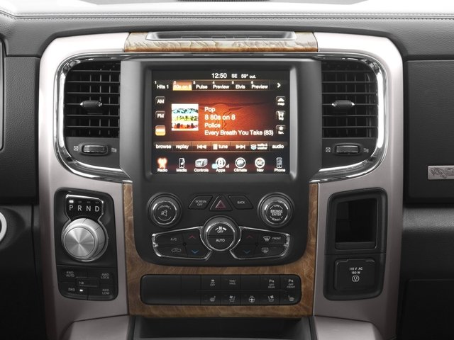 2016 Ram Truck 1500 Prices and Values Crew Cab Limited 2WD stereo system