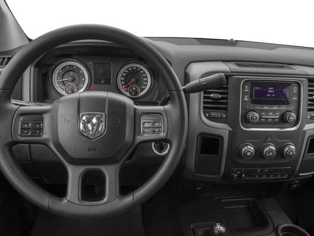 2016 Ram Truck 3500 Prices and Values Regular Cab Tradesman 2WD driver's dashboard