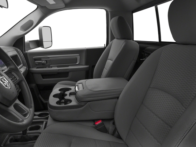 2016 Ram Truck 3500 Prices and Values Regular Cab Tradesman 2WD front seat interior