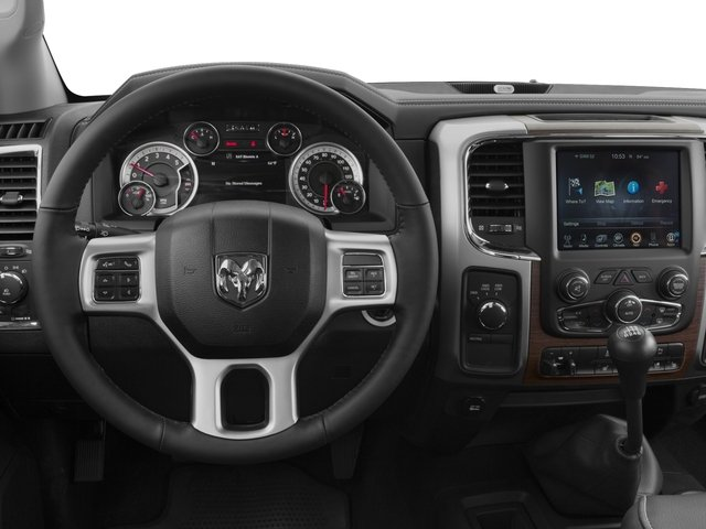 2016 Ram Truck 3500 Prices and Values Mega Cab Longhorn 2WD driver's dashboard