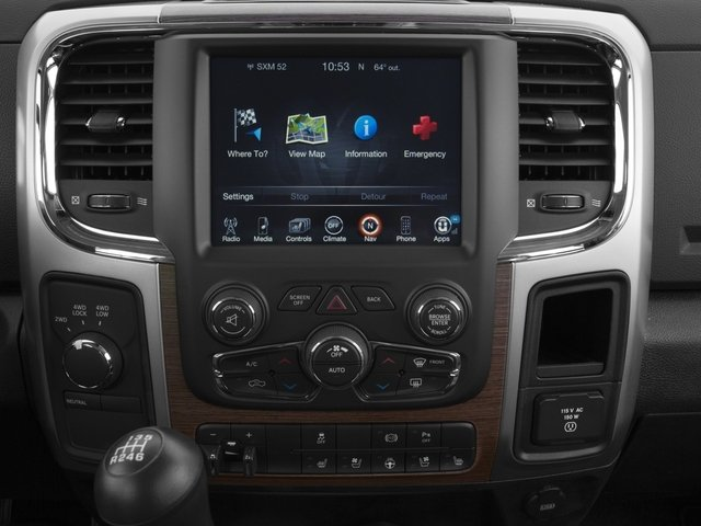 2016 Ram Truck 3500 Prices and Values Mega Cab Longhorn 2WD stereo system