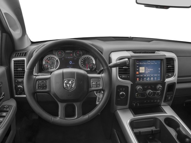 2016 Ram Truck 3500 Prices and Values Mega Cab SLT 4WD driver's dashboard