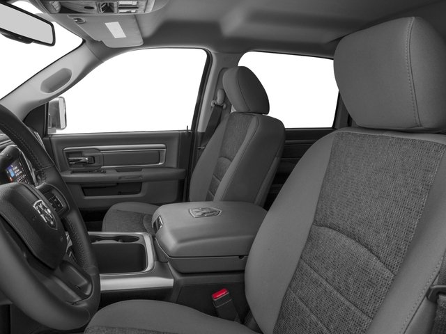 2016 Ram Truck 3500 Prices and Values Mega Cab SLT 4WD front seat interior