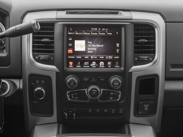 2016 Ram Truck 3500 Prices and Values Mega Cab SLT 4WD stereo system
