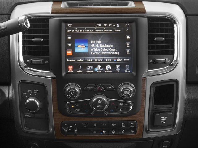 2016 Ram Truck 3500 Prices and Values Crew Cab Laramie 4WD stereo system
