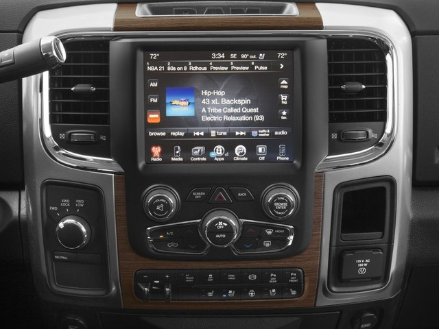 2016 Ram Truck 3500 Prices and Values Crew Cab Laramie 2WD stereo system