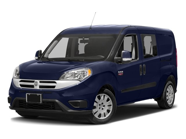 2016 Ram Truck ProMaster City Wagon Prices and Values Passenger Van SLT side front view