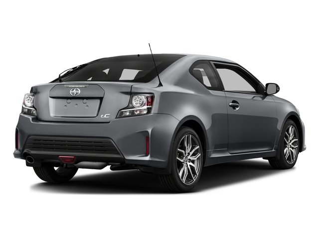 2016 Scion tC Prices and Values Liftback 3D I4 side rear view