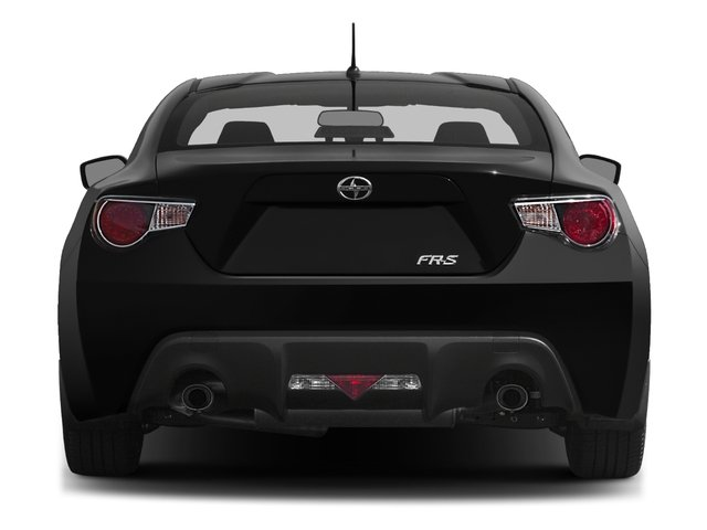 2016 Scion FR-S Prices and Values Coupe 2D H4 rear view
