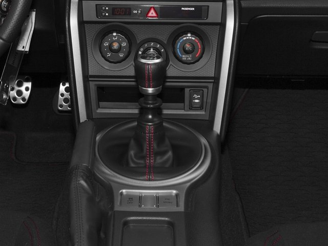2016 Scion FR-S Prices and Values Coupe 2D H4 center console