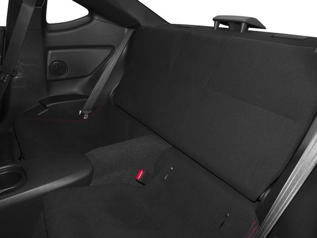 2016 Scion FR-S Pictures FR-S Coupe 2D H4 photos backseat interior
