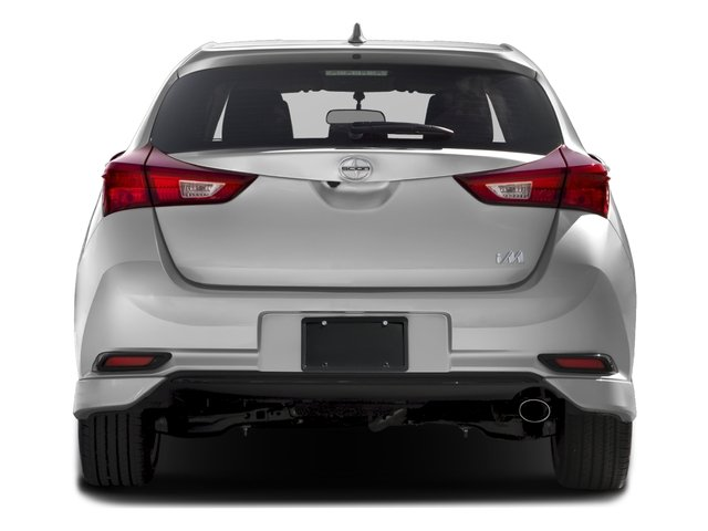 2016 Scion iM Prices and Values Hatchback 5D I4 rear view