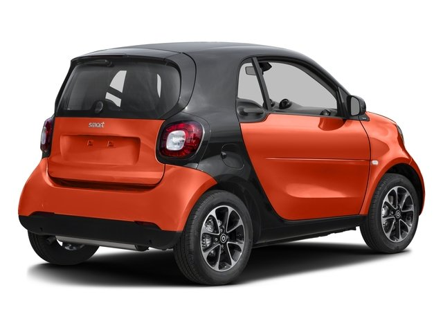 2016 smart fortwo Pictures fortwo Coupe 2D Pure I3 photos side rear view