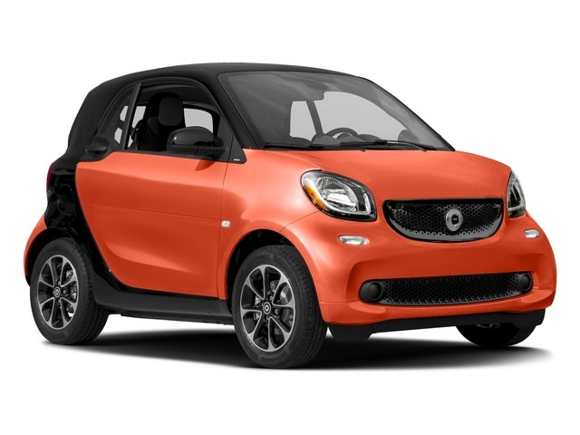 2016 smart fortwo Pictures fortwo Coupe 2D Pure I3 photos side front view