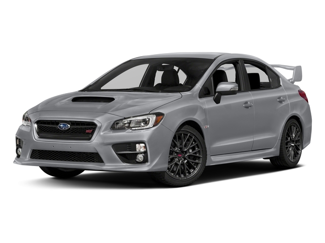 2016 Subaru WRX STI Prices and Values Sedan 4D STI AWD Turbo side front view