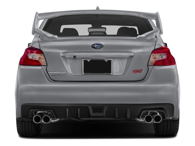 2016 Subaru WRX STI Prices and Values Sedan 4D STI AWD Turbo rear view