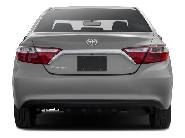 2016 Toyota Camry Prices and Values Sedan 4D XLE V6 rear view