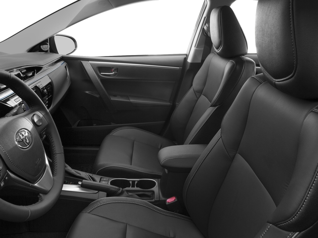 2016 Toyota Corolla Pictures Corolla Sedan 4D Special Edition I4 photos front seat interior