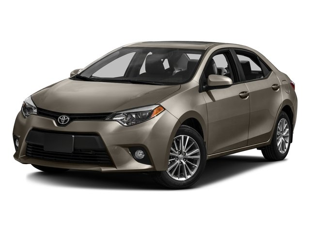 2016 Toyota Corolla Prices and Values Sedan 4D LE Eco I4
