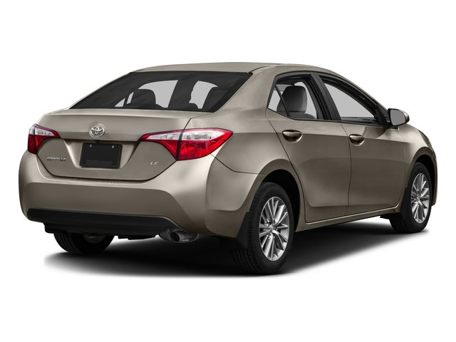 2016 Toyota Corolla Prices and Values Sedan 4D LE Eco I4 side rear view