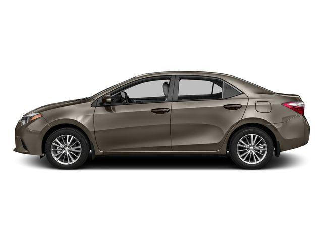 2016 Toyota Corolla Prices and Values Sedan 4D LE Eco I4 side view