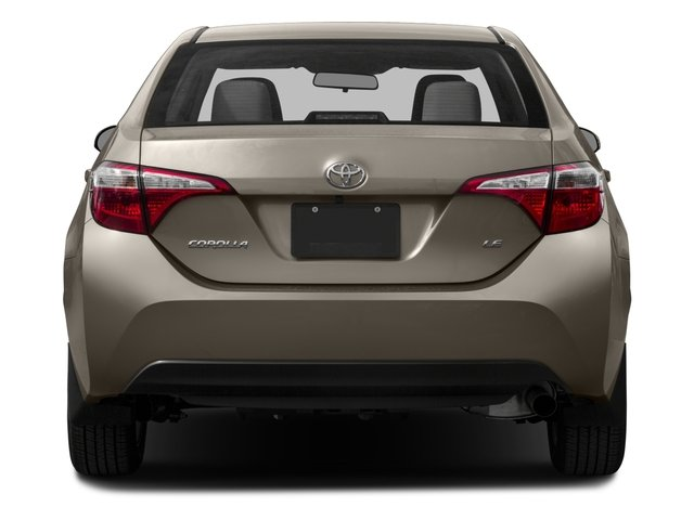 2016 Toyota Corolla Prices and Values Sedan 4D LE Eco I4 rear view