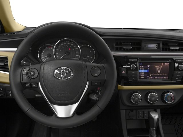 2016 Toyota Corolla Prices and Values Sedan 4D LE Eco I4 driver's dashboard