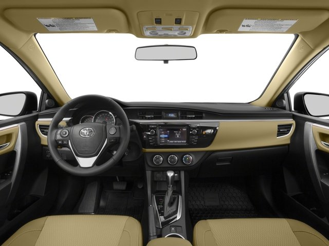 2016 Toyota Corolla Prices and Values Sedan 4D LE Eco I4 full dashboard