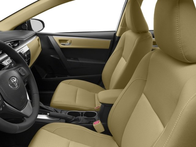 2016 Toyota Corolla Prices and Values Sedan 4D LE Eco I4 front seat interior