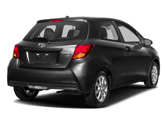 2016 Toyota Yaris Prices and Values Hatchback 3D L I4 side rear view