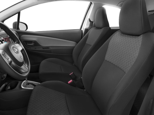 2016 Toyota Yaris Prices and Values Hatchback 3D L I4 front seat interior