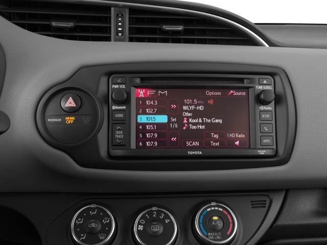 2016 Toyota Yaris Prices and Values Hatchback 3D L I4 stereo system
