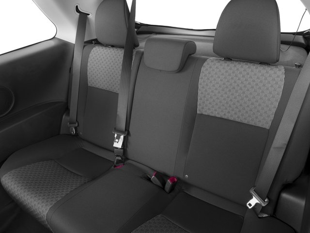 2016 Toyota Yaris Prices and Values Hatchback 3D L I4 backseat interior