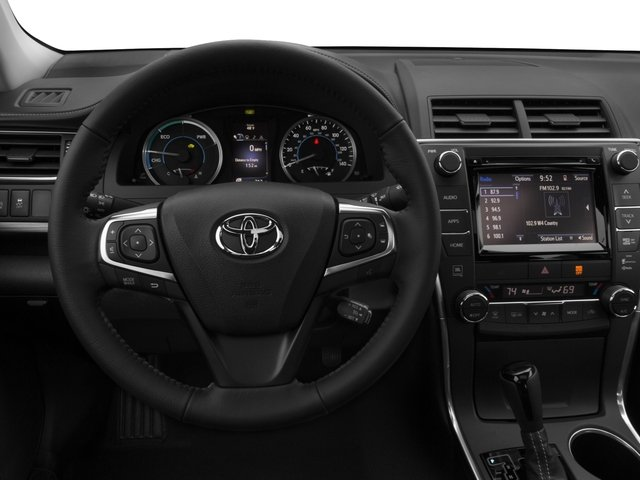 2016 Toyota Camry Hybrid Pictures Sedan 4d Xle I4 Photos Driver S Dashboard