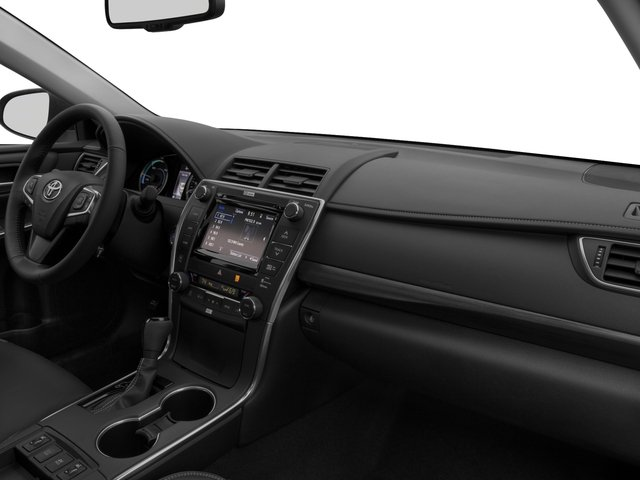 2016 Toyota Camry Hybrid Pictures Sedan 4d Xle I4 Photos Penger S Dashboard