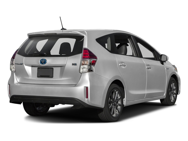 2016 Toyota Prius v Prices and Values Liftback 5D v Five I4 Hybrid side rear view