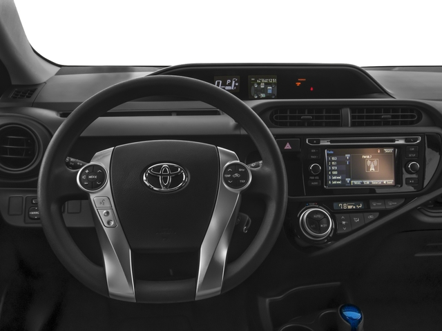 2016 Toyota Prius c Prices and Values Liftback 5D c I4 Hybrid driver's dashboard